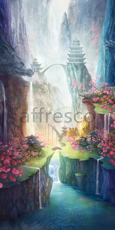 6545 | The best landscapes | Fantastic canyon | Affresco Factory