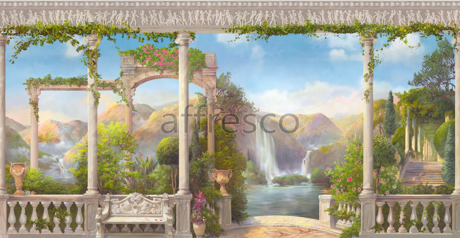 4924 | Picturesque scenery | Eden | Affresco Factory