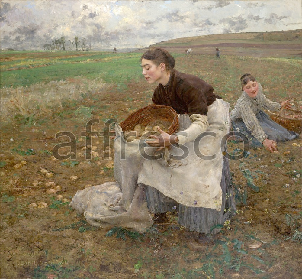 Scenic themes | Jules Bastien Lepage October | Affresco Factory