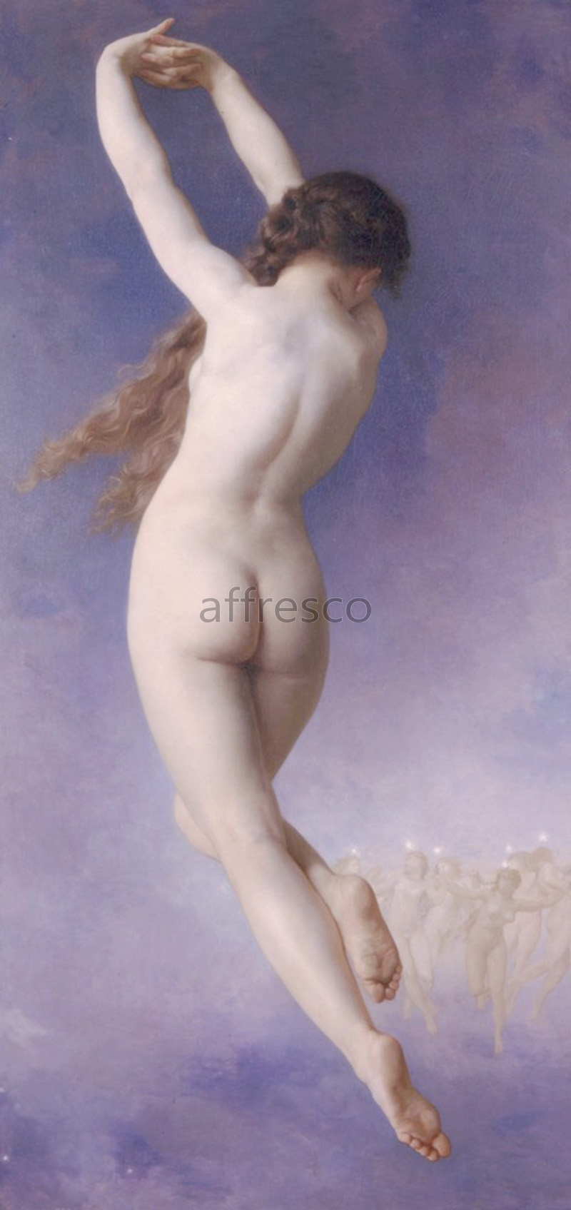 Classical antiquity themes | William Adolphe Bouguereau Lost Pleiad | Affresco Factory
