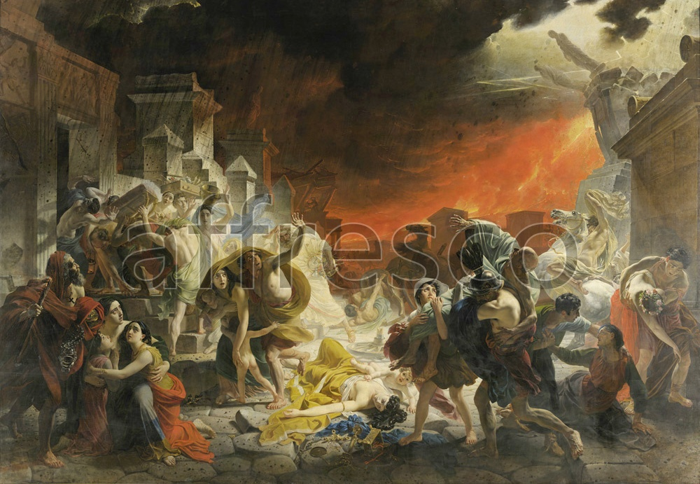 Scenic themes | Karl Brullov The Last Day of Pompeii | Affresco Factory