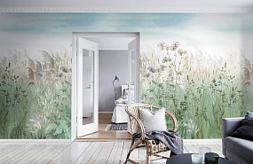 Handmade wallpaper, Handmade wallpaper | Summer grass