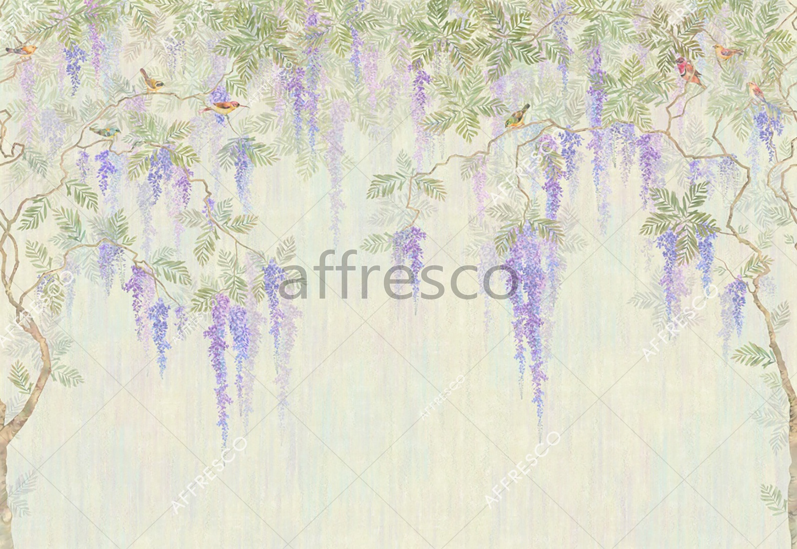 6888 | Gardens | Paradise branches | Affresco Factory