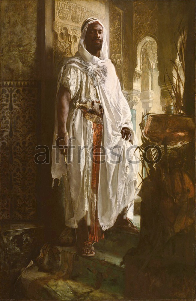 Scenic themes | Eduard Charlemont Austrian The Moorish Chief | Affresco Factory