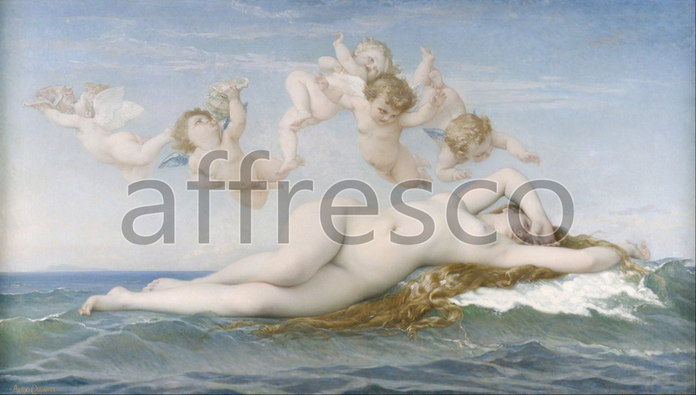 Classical antiquity themes | Alexandre Cabanel The Birth of Venus | Affresco Factory