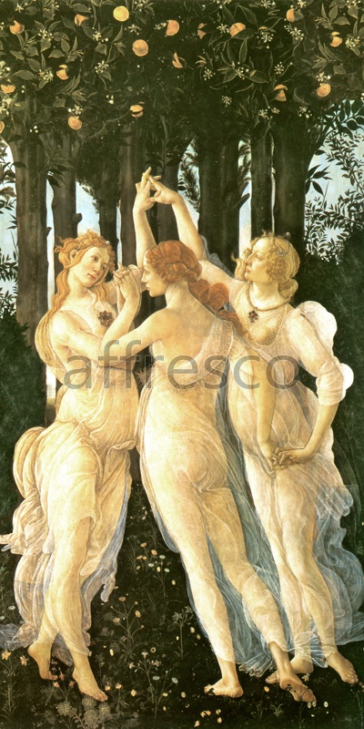 3108 | Classic Scenes | three graces | Affresco Factory