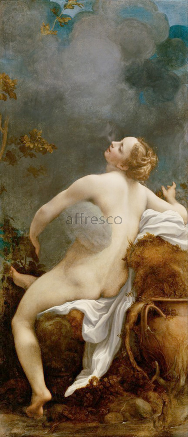 Classical antiquity themes | Antonio Allegri called Correggio Jupiter and Io | Affresco Factory