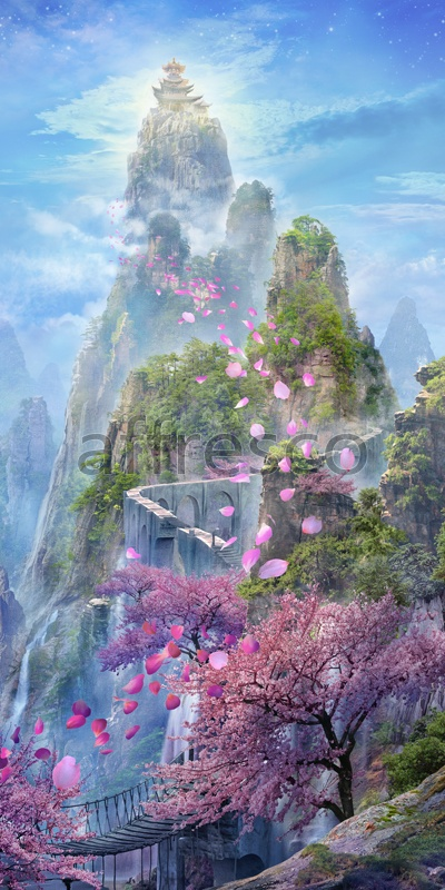 6544 | The best landscapes | Fairy sketch | Affresco Factory