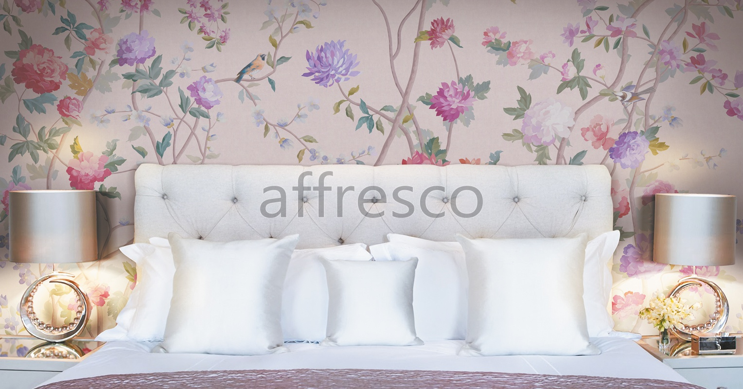 Handmade wallpaper, Brides garden